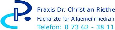 Praxis Dres. med. Christian und Claudia Riethe Logo